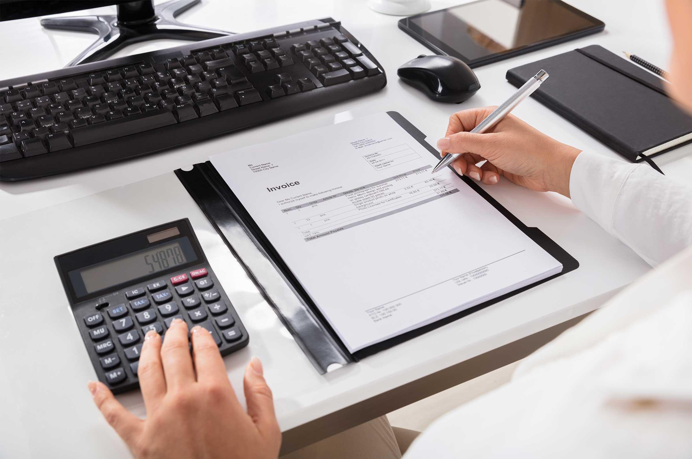 Einnahmen-Ausgaben Rechnung